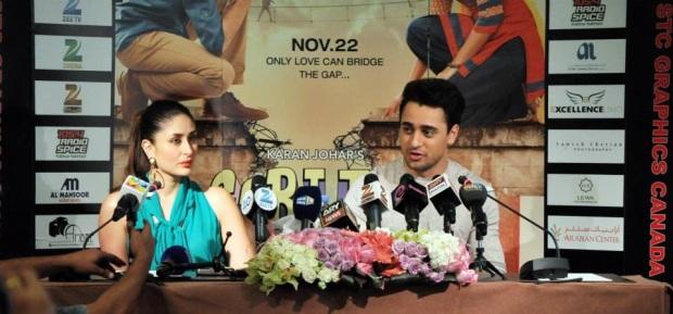 Bebo & Imran promotes Gori Tere Pyaar Mein in Dubai 001